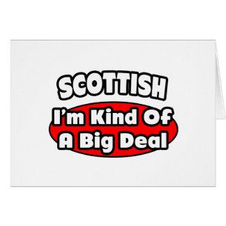 Scottish...Big Deal Card