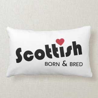 Scottish Born and Bred Lumbar Pillow