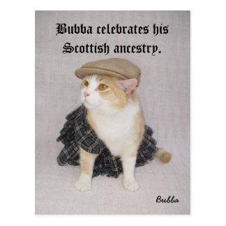 Scottish Bubba Post Card