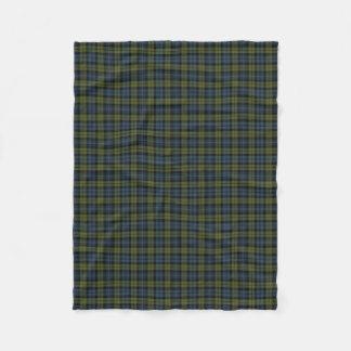 Scottish Campbell Classic Tartan Fleece Blanket