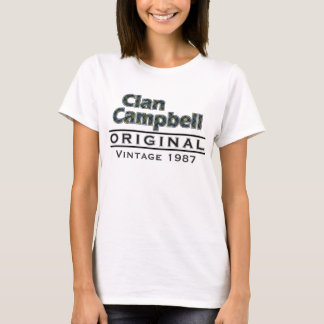 Scottish Campbell Vintage Customize Your Birthyear T-Shirt
