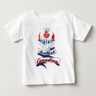 Scottish Canadian Thistle Baby T-Shirt