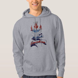 Scottish Canadian Thistle Hooded Top