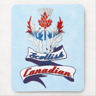 Scottish Canadian Thistle Mousemat Mouse Pad