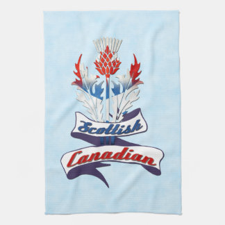Scottish Canadian Thistle Tea Towels