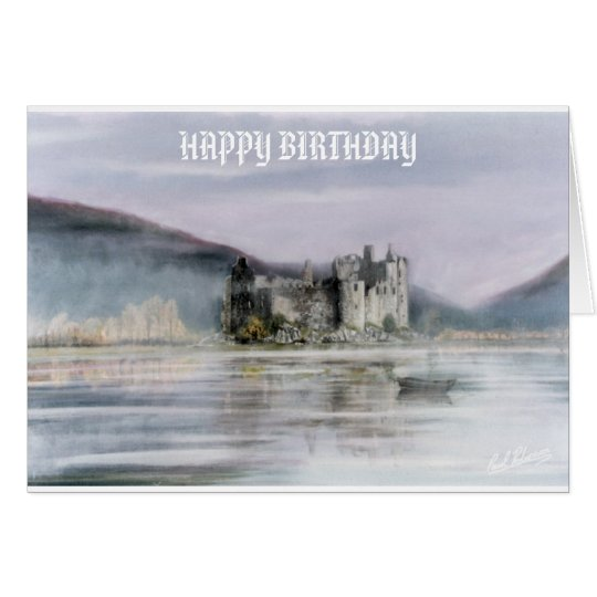 SCOTTISH CASTLE CARD
