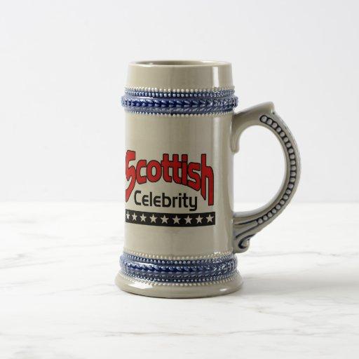 Scottish Celebrity 18 Oz Beer Stein