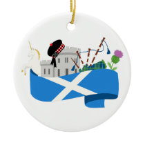Scottish Ceramic Ornament