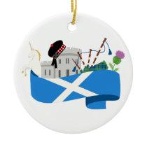 Scottish Ceramic Ornament