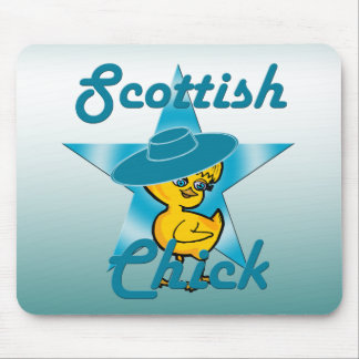 Scottish Chick #7 Mouse Pad