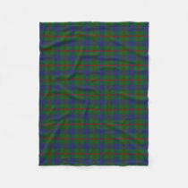 Scottish Clan Agnew Classic Tartan Fleece Blanket