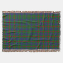 Scottish Clan Agnew Tartan Throw