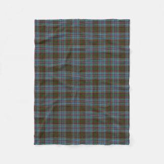 Scottish Clan Anderson Classic Tartan Fleece Blanket