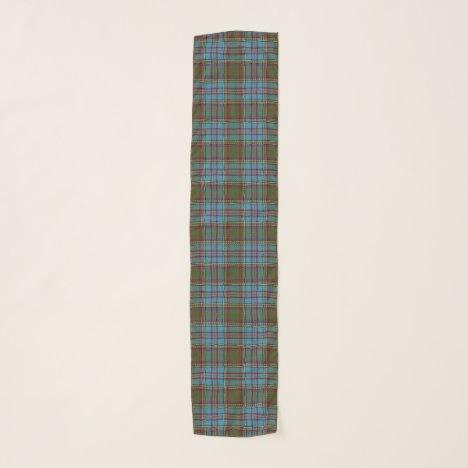 Scottish Clan Anderson Tartan Plaid Scarf
