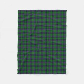 Scottish Clan Armstrong Classic Tartan Fleece Blanket