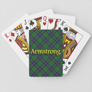 Scottish Clan Armstrong Playing Cards