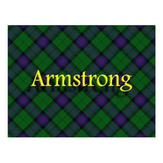 Scottish Clan Armstrong Postcard