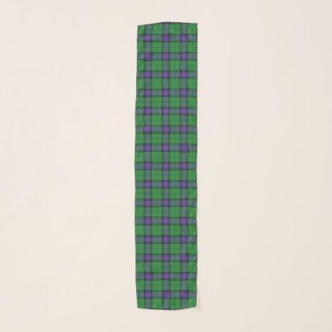 Scottish Clan Armstrong Tartan Plaid Scarf