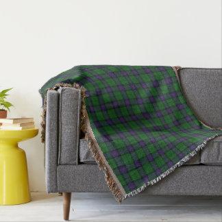 Scottish Clan Armstrong Tartan Throw Blanket