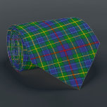 """Scottish Clan Bailey Tartan Plaid Neck Tie<br><div class=""""desc"""">Scottish Clan Bailey Tartan Plaid for the Bailey family clan, the warp and weft used to create the tartan sett are simulated in a detail print. The Scottish Clan Bailey Tartan Plaid is woven in crisscrossing horizontal and vertical bands of specific colors. The Scottish Clan Bailey Tartan Plaid is used...</div>"""