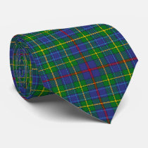 Scottish Clan Bailey Tartan Plaid Neck Tie