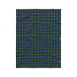 Scottish Clan Blair Classic Tartan Fleece Blanket