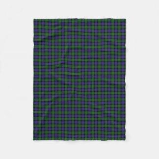 Scottish Clan Blair Classic Tartan Fleece Blanket