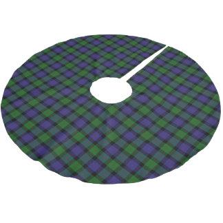 Scottish Clan Blair Tartan Brushed Polyester Tree Skirt