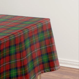 Scottish Clan Boyd Tartan Tablecloth