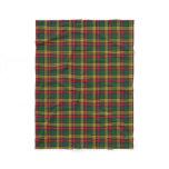 Scottish Clan Buchanan Classic Tartan Fleece Blanket
