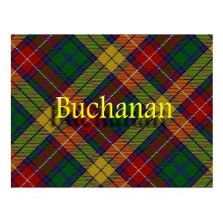 Scottish Clan Buchanan Postcard