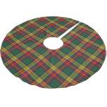 Scottish Clan Buchanan Tartan Brushed Polyester Tree Skirt