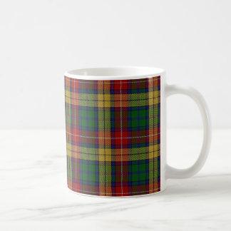 Scottish Clan Buchanan Tartan Coffee Mug