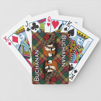 Scottish Clan Buchanan Tartan Deck Bicycle Playing Cards