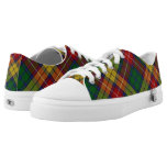 Scottish Clan Buchanan Tartan Low-Top Sneakers