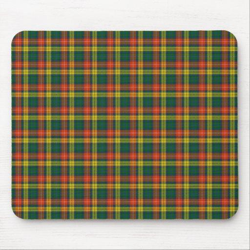 Scottish Clan Buchanan tartan Mouse Pad