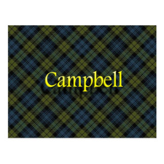 Scottish Clan Campbell Post Cards