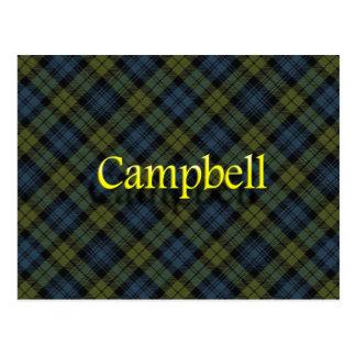 Scottish Clan Campbell Postcard