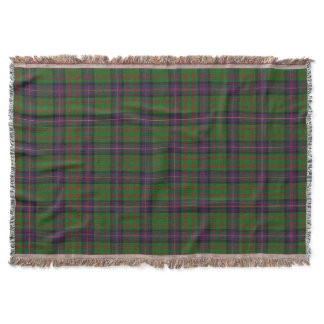 Scottish Clan Cochrane Cochran Tartan Throw