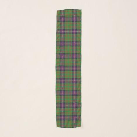 Scottish Clan Cochrane Tartan Plaid Scarf