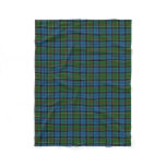 Scottish Clan Colquhoun Classic Tartan Fleece Blanket