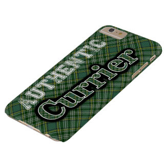 Scottish Clan Currie Currier Tartan Celebration Barely There iPhone 6 Plus Case