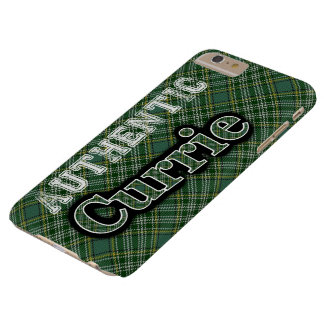 Scottish Clan Currie Tartan Celebration Barely There iPhone 6 Plus Case