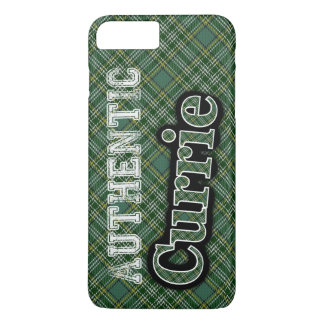 Scottish Clan Currie Tartan Celebration iPhone 8 Plus/7 Plus Case