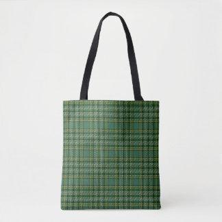 Scottish Clan Currie Tartan Plaid Tote Bag