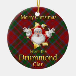 Scottish Clan Drummond Christmas Ornament