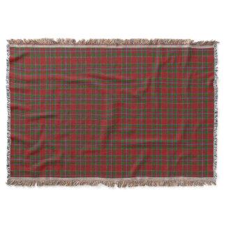 Scottish Clan Drummond Tartan Throw