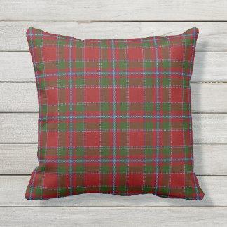 Scottish Clan Drummond Tartan Throw Pillow