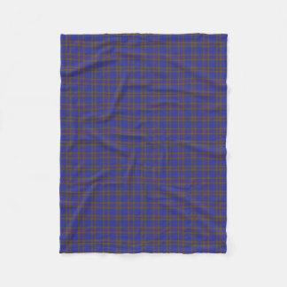Scottish Clan Elliot Elliott Classic Tartan Fleece Blanket