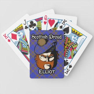 Scottish Clan Elliot Tartan Deck Bicycle Playing Cards
